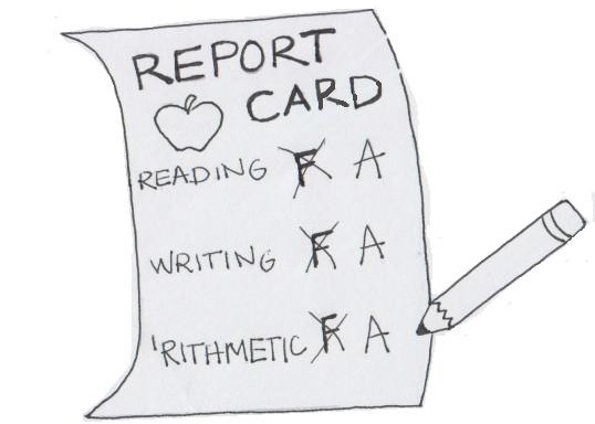 Fix that report card.
